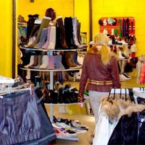 Магазины одежды и обуви Оленино